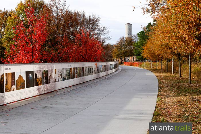 Atlanta BeltLine Eastside Trail: top places to run in Atlanta, Georgia
