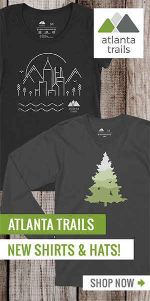Atlanta Trails Shop: Mountain Logo Shirts and Hats, Women's Shirts and Stickers