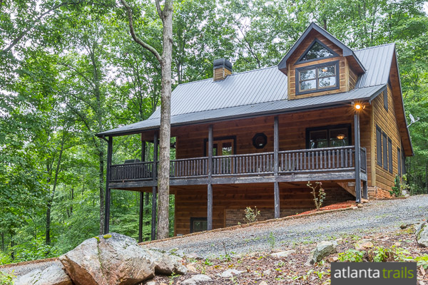 Blue Ridge Cabin Review: Hawks Ridge from Southern Comfort Cabin Rentals