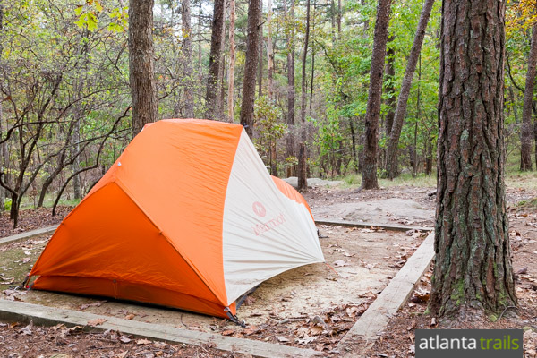 Best walk-in camping in Georgia: Cloudland Canyon State Park