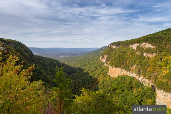Hike the West Rim Loop Trail at Cloudland Canyon State Park to some seriously epic views