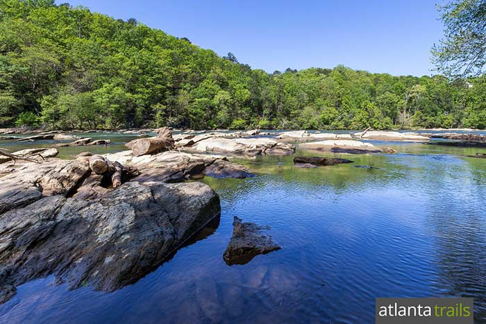 Hike the East Palisades Trail to gorgeous Chattahoochee River views and a bamboo grove in Atlanta