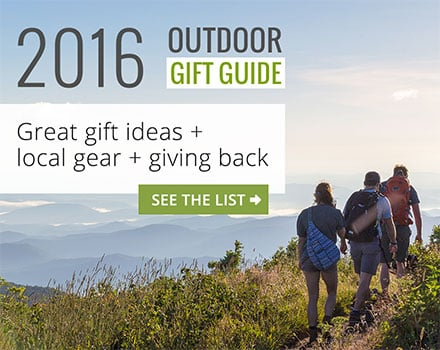 2016 Outdoor Gift Guide: top gift ideas for hikers, runners, backpackers and camping