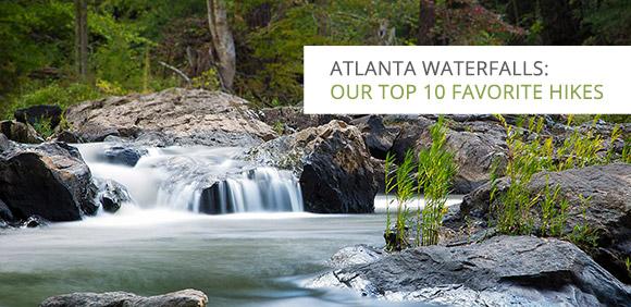 Atlanta waterfalls: our top 10 favorite hikes