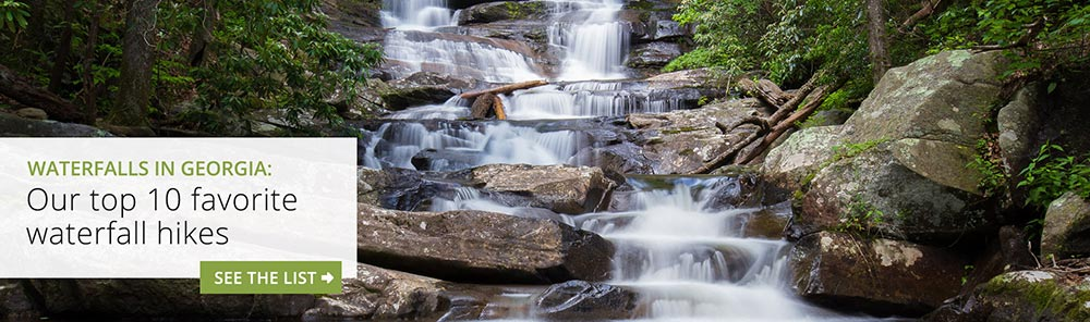 Waterfalls in Georgia: our top ten favorite waterfall hikes