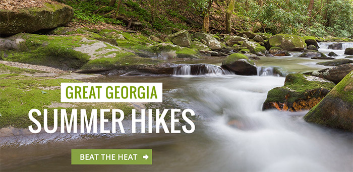 Hike these great Georgia summer hikes to beat the summertime heat