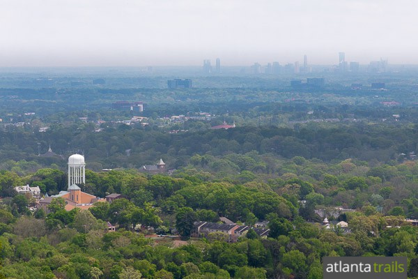 Catch Kennesaw Mountain summit views of the Atlanta skyline