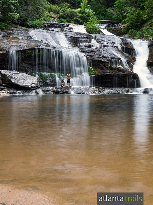Hiking Panther Creek: one of Georgia's most beautiful & popular waterfalls