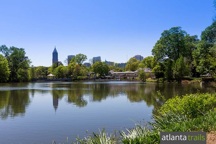 Piedmont Park four-mile loop: top running trails in Midtown Atlanta