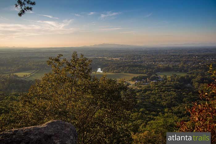 Sawnee Mountain Preserve Hiking The Indian Seats Trail