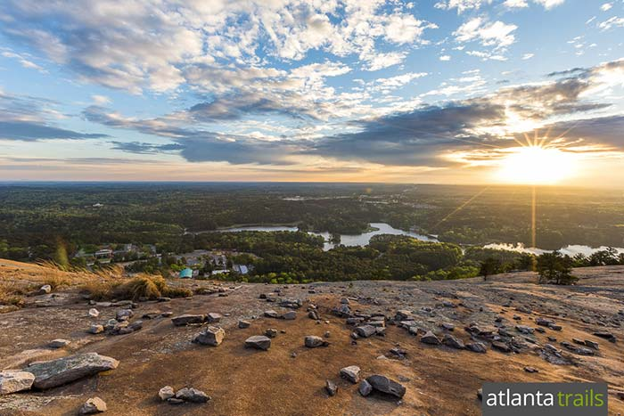 Hike Atlanta's Stone Mountain Walk-Up Trail to stunning summit views and epic sunrises