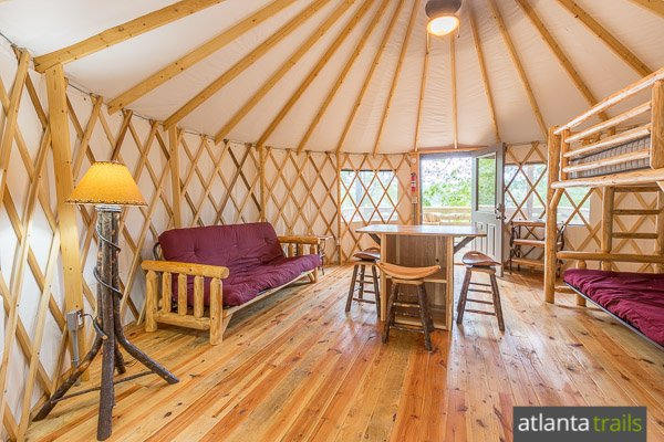 Sweetwater Creek State Park Yurts Camping Review