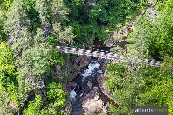 Matchless message, Hiking trails georgia swinging bridge for