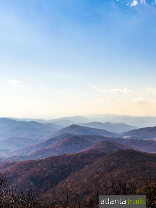 Vogel State Park: hike the Coosa Backcountry Trail and Appalachian Trail to stunning views at the Blood Mountain summit in North Georgia