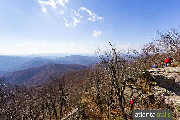 Hike from Vogel State Park to Blood Mountain, catching stunning views from the highest summit on the Appalachian Trail in Georgia