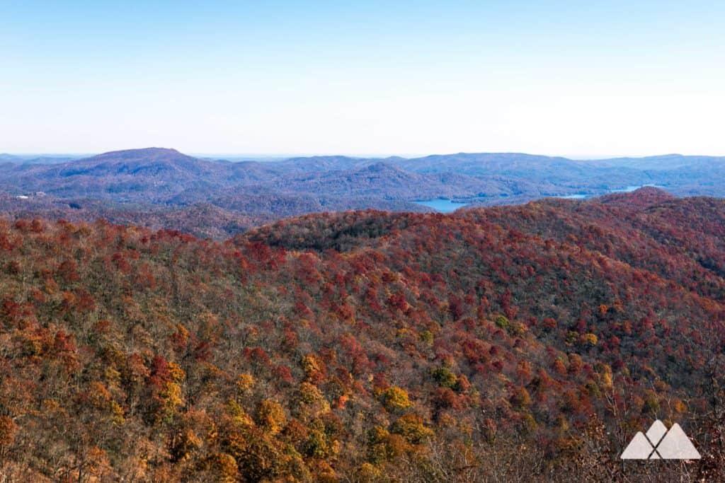 Appalachian Trail: Dicks Creek Gap to Powell Mountain