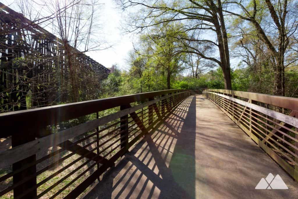 Run the Heritage Trail and the North Oconee River Greenway near the UGA campus in Athens, GA