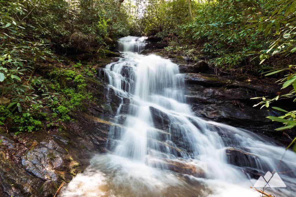 Hike the Bartram Trail near Clayton through the wildflower and waterfall-filled Warwoman Dell