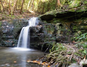 Cascade Falls at FDR State Park