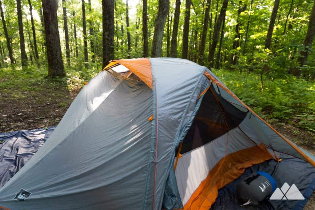 Camping in North Georgia's Chattahoochee National Forest