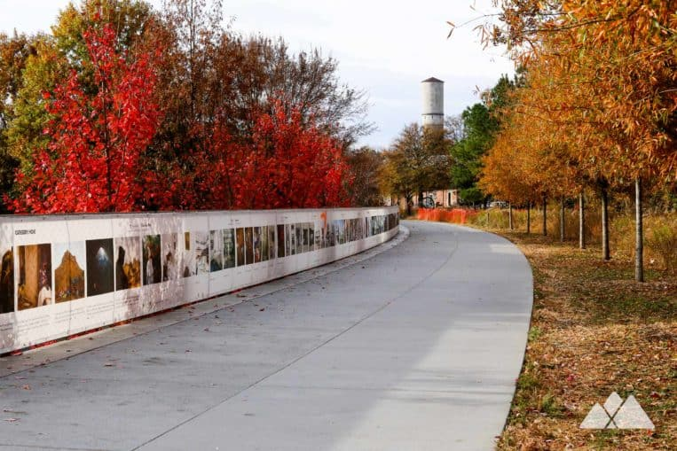 Run the Atlanta BeltLine Eastside Trail from Piedmont Park to Ponce City Market, one of our favorite Atlanta running routes
