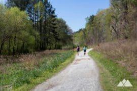 Cochran Shoals Trail: running at the Chattahoochee River in Atlanta