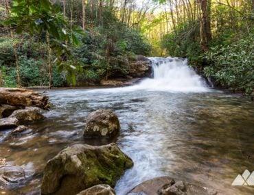 Hemlock Falls Trail at Lake Burton