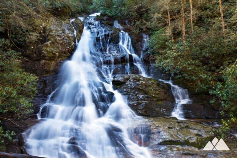 High Shoals Falls and Blue Hole Falls