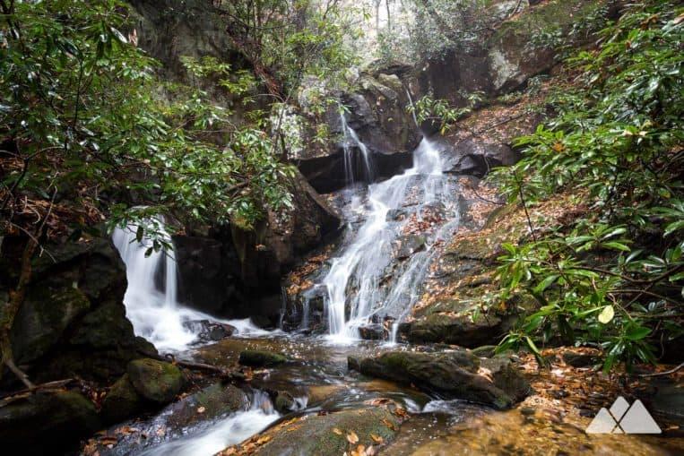 Long Creek Falls on the Appalachian Trail: top waterfall hikes in North Georgia