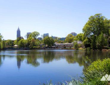 Piedmont Park: best places to run in Atlanta, GA