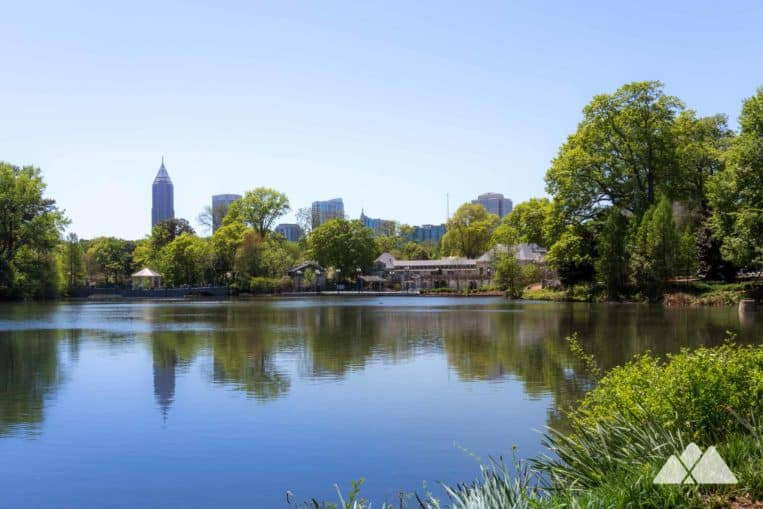 Run the Piedmont Park trails on a scenic four-mile intown loop, our favorite spot to run in Midtown ATL
