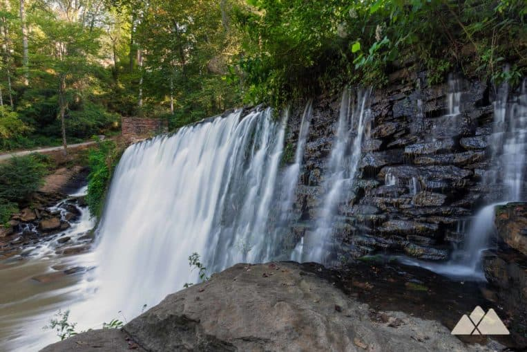Roswell Mill: hiking the Vickery Creek Trail to a stunning waterfall