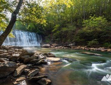 Vickery Creek Trail at Roswell Mill