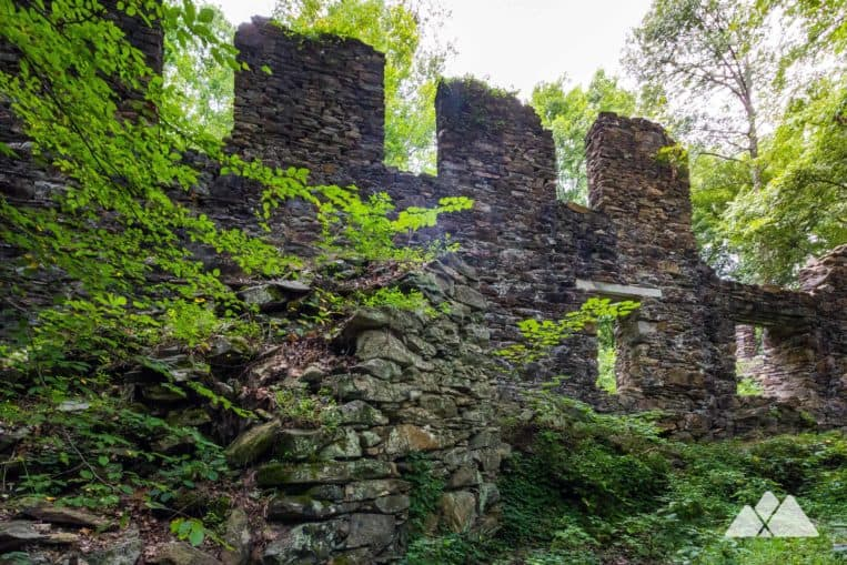 Hike Atlanta's Sope Creek Trail to the stone ruins of a paper mill destroyed during the Civil War