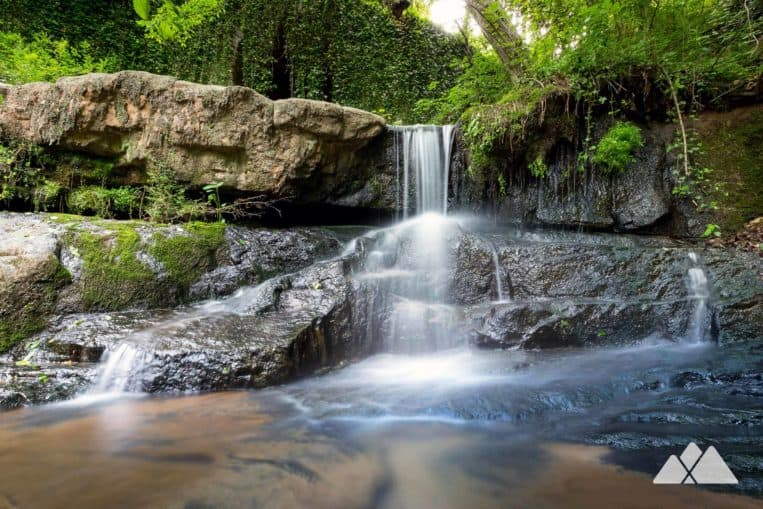 Cascade Springs Nature Preserve: hike to a tumbling waterfall in urban Atlanta