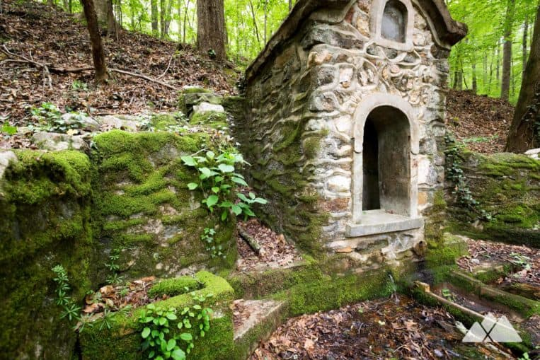 Hike the Cascade Springs Nature Preserve to this moss-covered historic spring house in Atlanta, GA