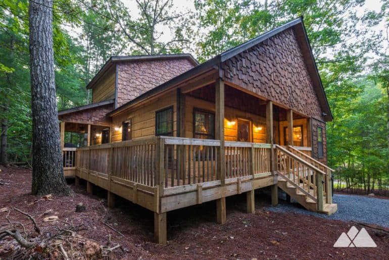 Coosawattee River Resort Cabin Review near Ellijay