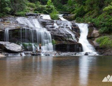 Panther Creek Trail in North Georgia