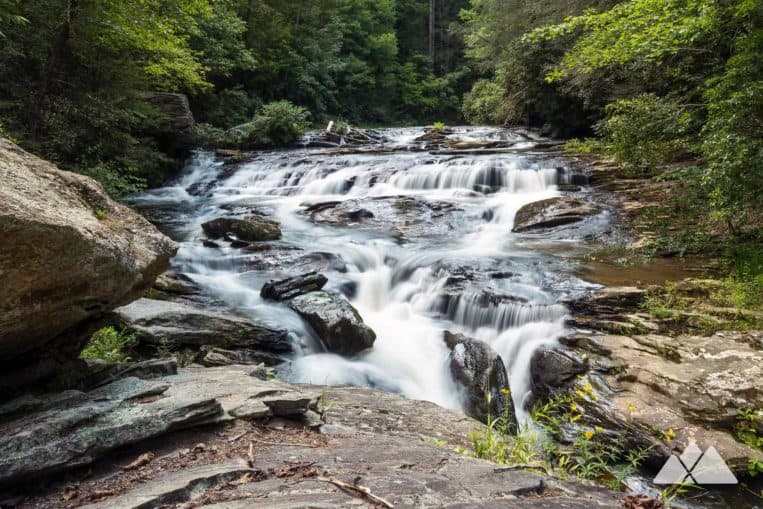 Hike to Panther Creek Falls, a series of tumbling waterfalls in North Georgia