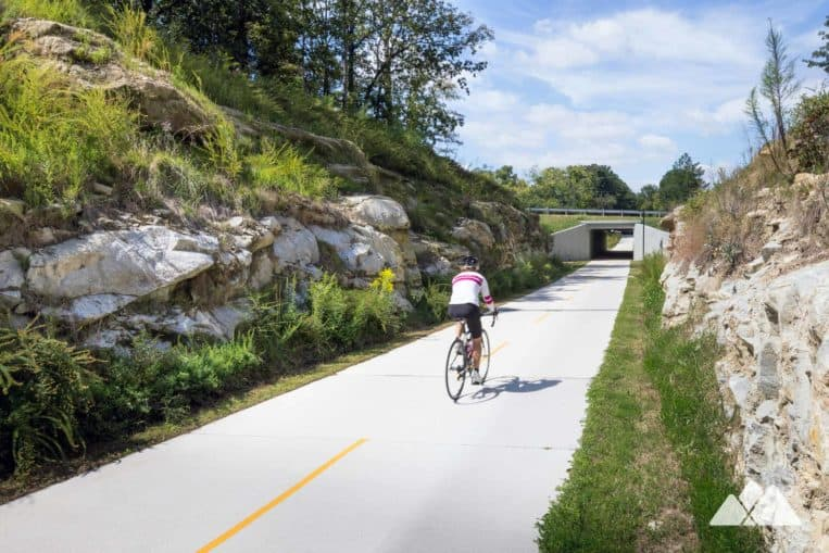Run the Silver Comet Trail, a flat, fast, paved trail near Vinings in metro Atlanta
