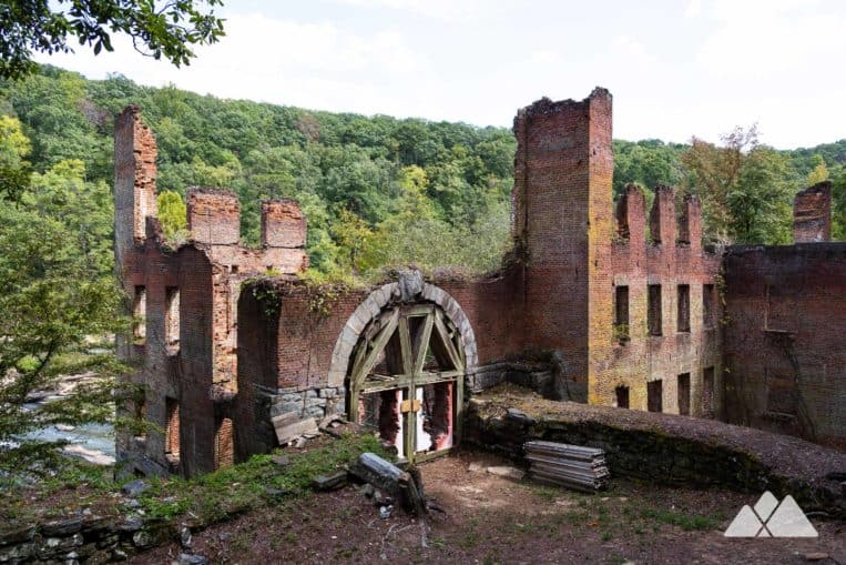 Sweetwater Creek State Park: hike the Red Trail to the ruins of a mill destroyed in the Civil War and a filming location for The Hunger Games