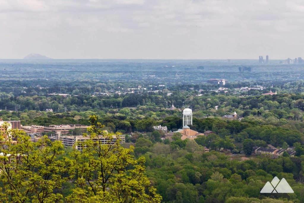 Hike the Kennesaw Mountain Trail to long-range summit views of Atlanta's skyline