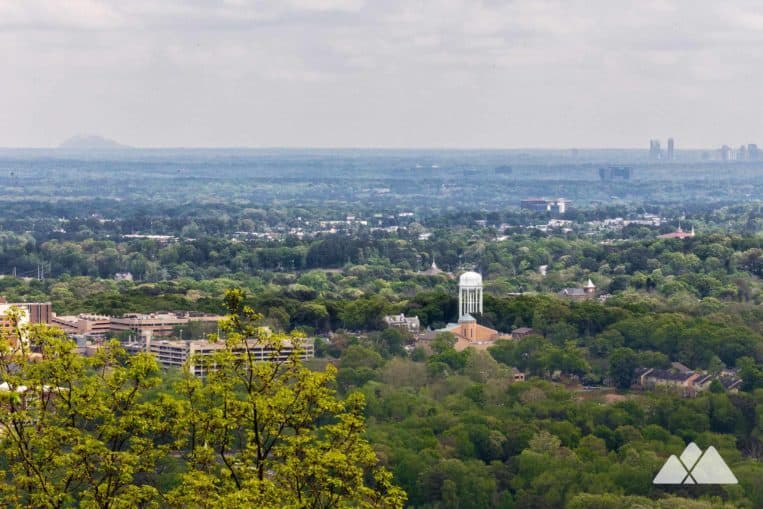 Kennesaw Mountain: hike the Big Mountain Trail to long-range summit views of Atlanta's skyline