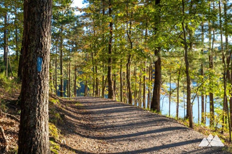 Iron Hill Loop at Red Top Mountain State Park: hike, run or bike to scenic views of Allatoona Lake
