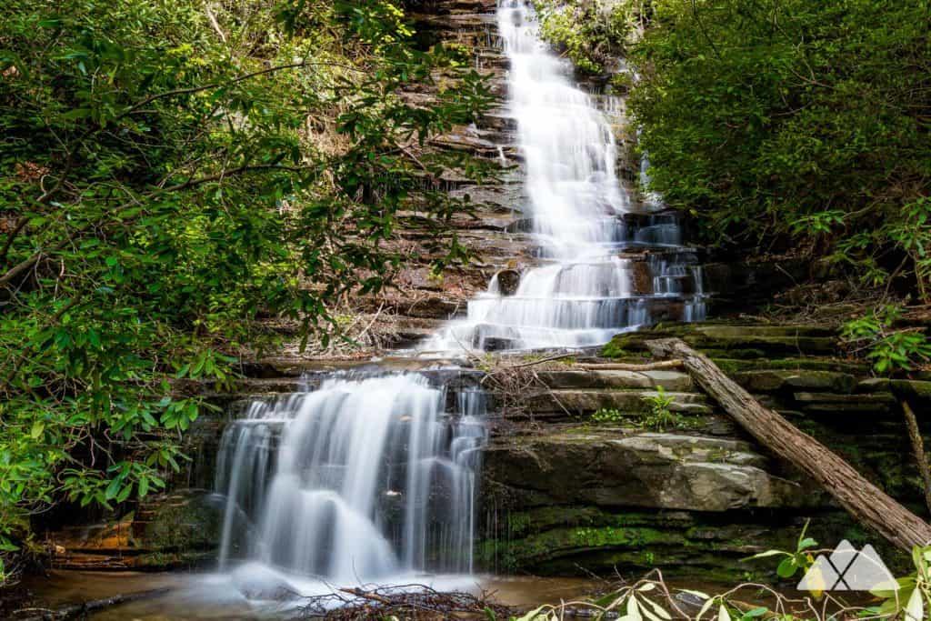 Angel Falls Trail at Georgia's Lake Rabun