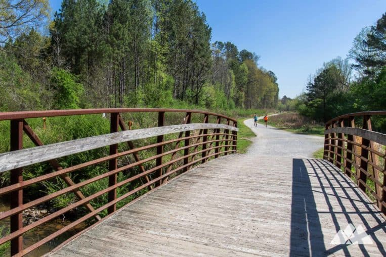 Cochran Shoals Trail to Sope Creek Park: top hikes and running trails in Atlanta, Georgia