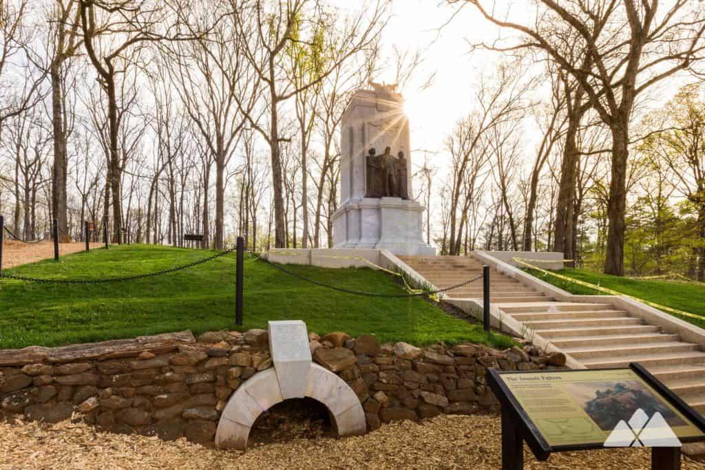 Hike or run the Cheatham Hill Trail and Kolb Farm Loop at Kennesaw Mountain National Battlefield