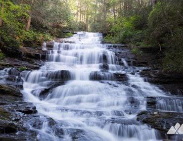 Georgia waterfall road trip