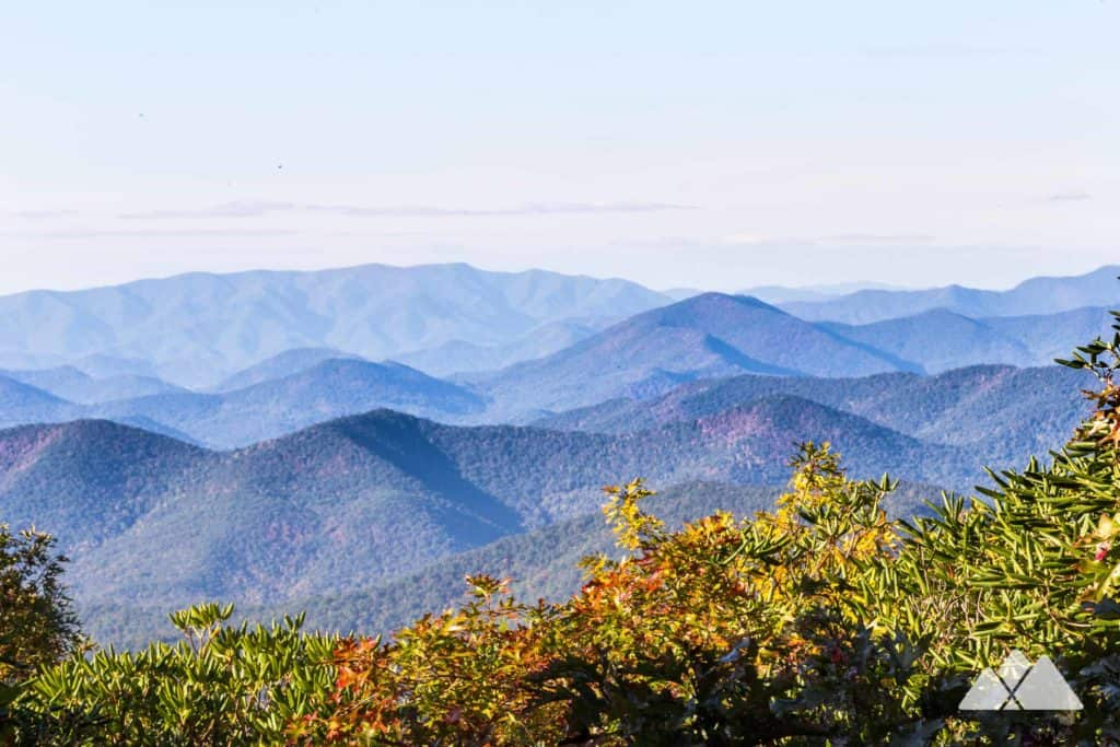 Hike to stunning Tray Mountain summit views on the Appalachian Trail in North Georgia