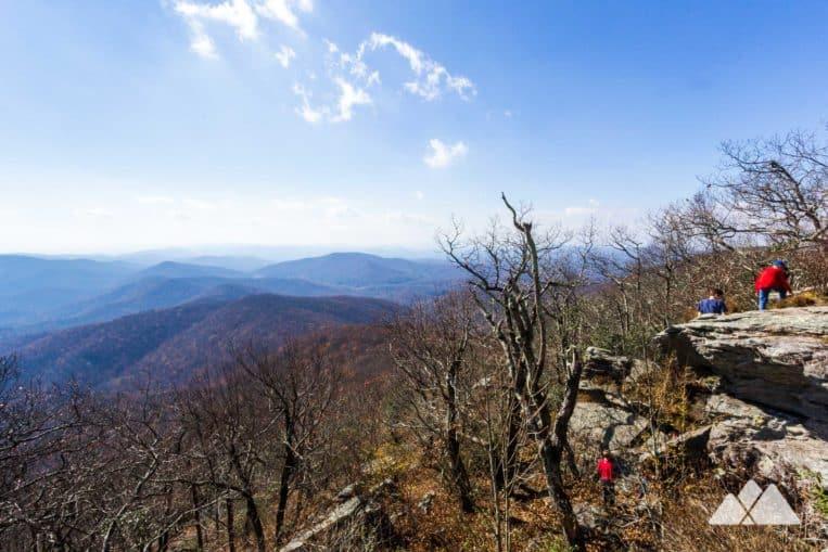 Georgia Winter Hiking: Blood Mountain Loop Appalachian Trail to Freeman Trail